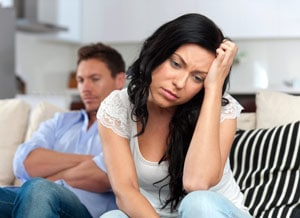 Couple in Marital Troubles
